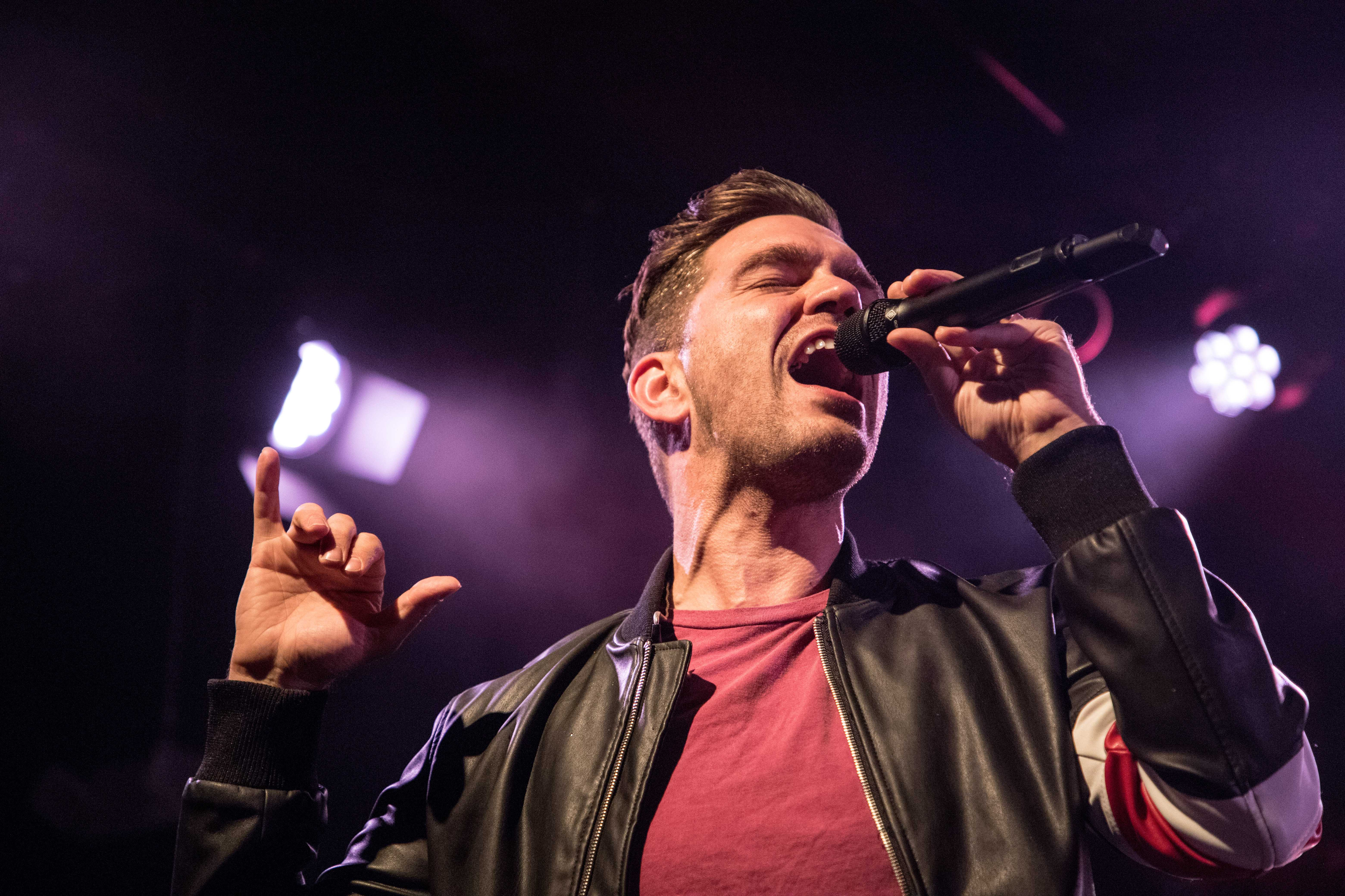 Andy Grammer performs at a packed Paradise Rock Club. / Photo by Riley Robinson