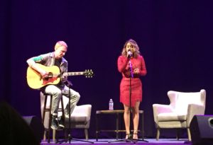 Fifth Harmony's Ally Brooke speaks and performs for CUP