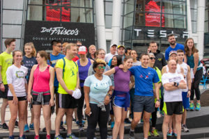 Runners attempt to 'Beat the T' during marathon weekend