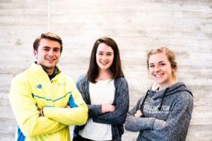 Huskies run: Northeastern students train for marathon