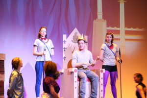 "NU Stage produces ""Pippin,"" the plainclothes pontificator"