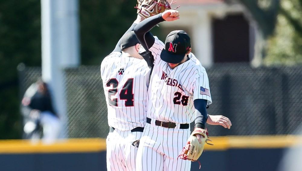 NU baseball sweeps home series against Elon University