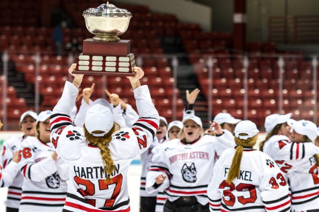 Women's hockey coach Dave Flint reflects on historic season