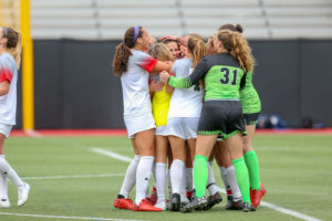 Northeastern women's soccer notches second consecutive golden goal victory