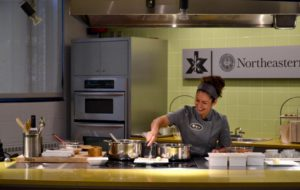 Chef Fernanda Tapia demos cooking talent at Xhibition Kitchen