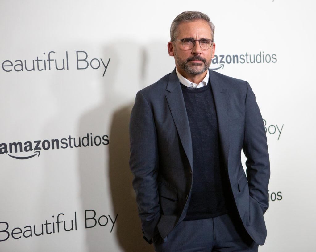 "Steve Carell talks complex fatherhood of ""Beautiful Boy"" at red carpet event"