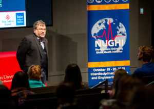NU students lead conference on global health threats