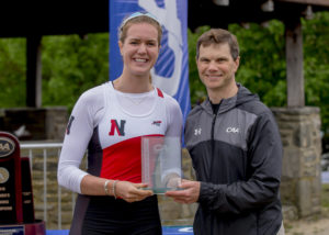 NU Rower Madison Mailey wins silver at World Championships