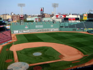 Experiencing Fenway Park: The centerfield bleachers