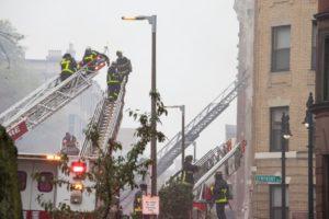 Seven-alarm fire breaks out on Hemenway Street