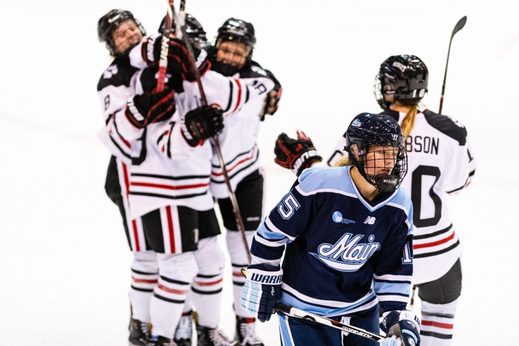 Women's hockey shuts out Maine 3-0