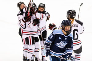 Women's hockey shuts out Maine 3-0