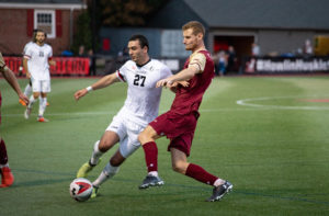 Men's soccer comes out of the past week with even record