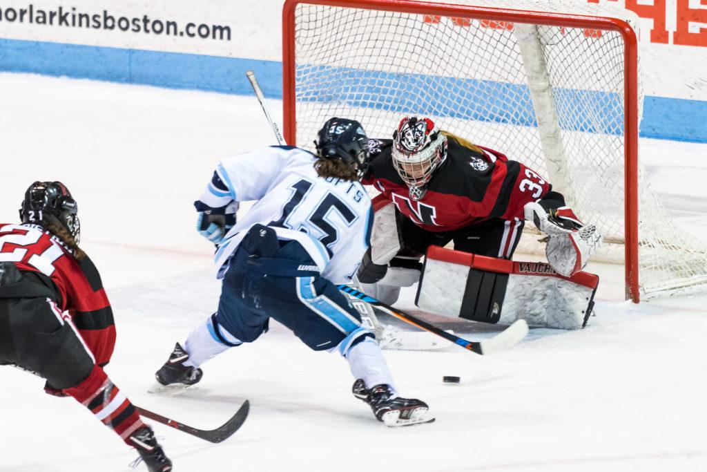 Women's hockey unbeaten in weekend series at BU