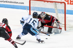 Women's hockey unbeaten in weekend series at BU