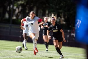 Women's soccer remains undefeated in CAA