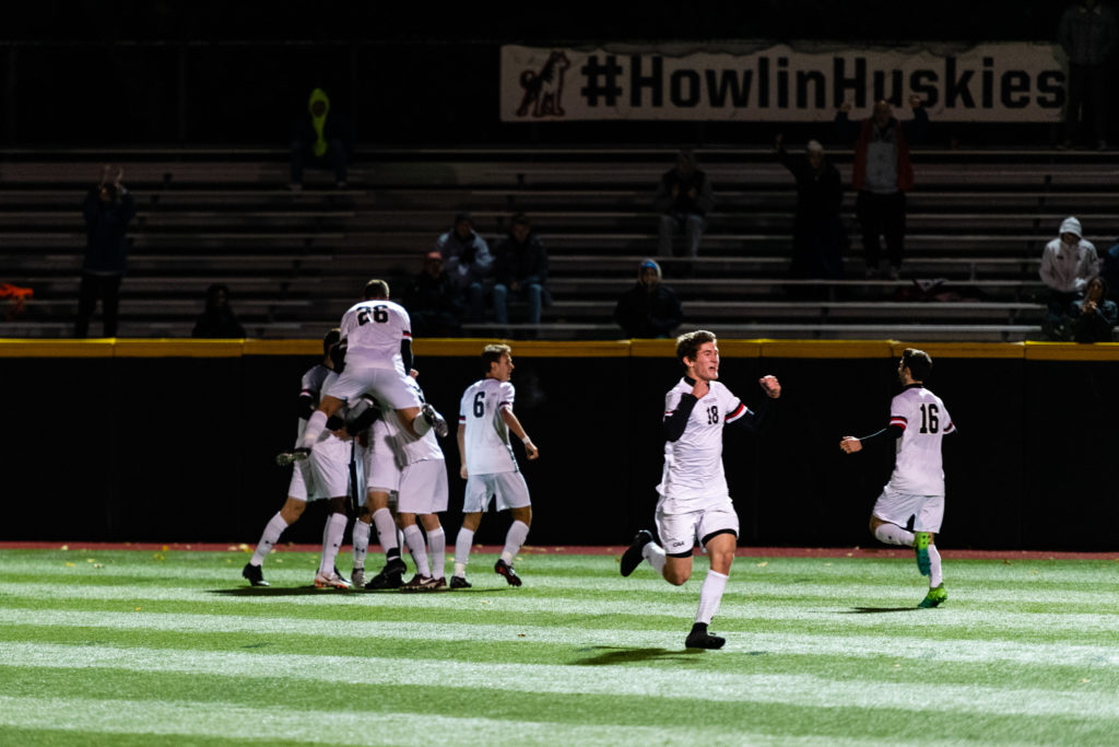 Men's soccer earns conference tournament berth with win over No. 13 UNCW