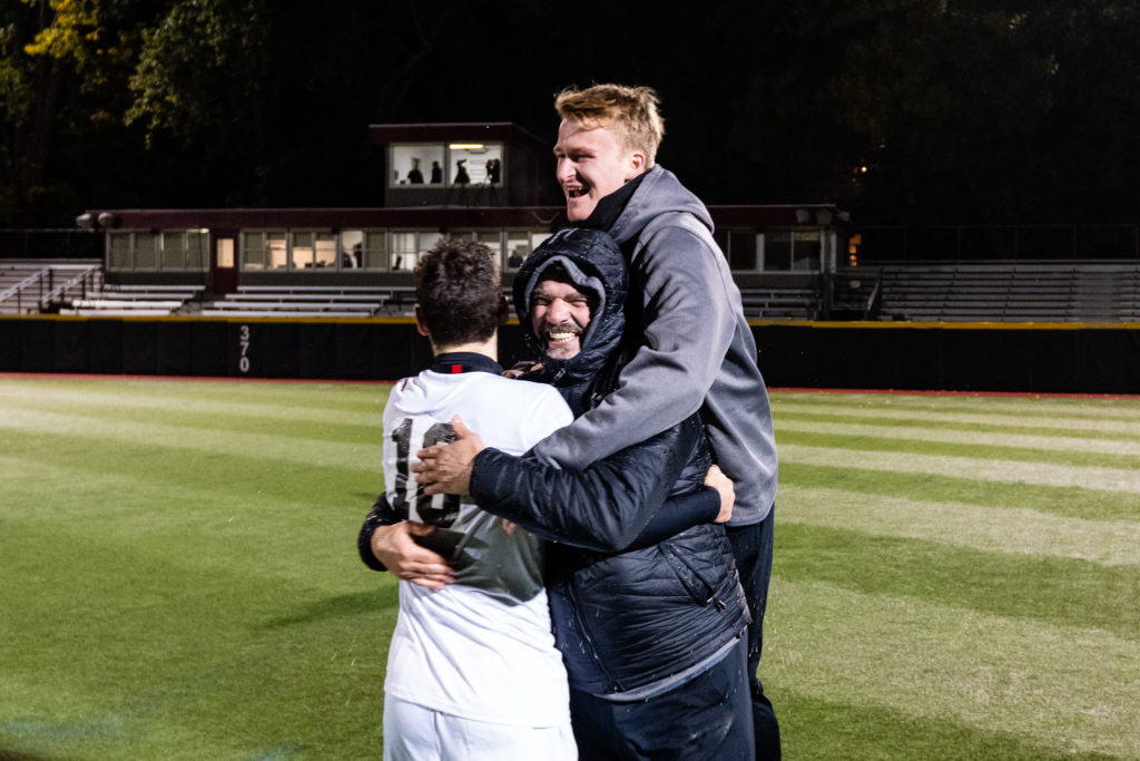 Men's soccer exits in first round of CAA tournament