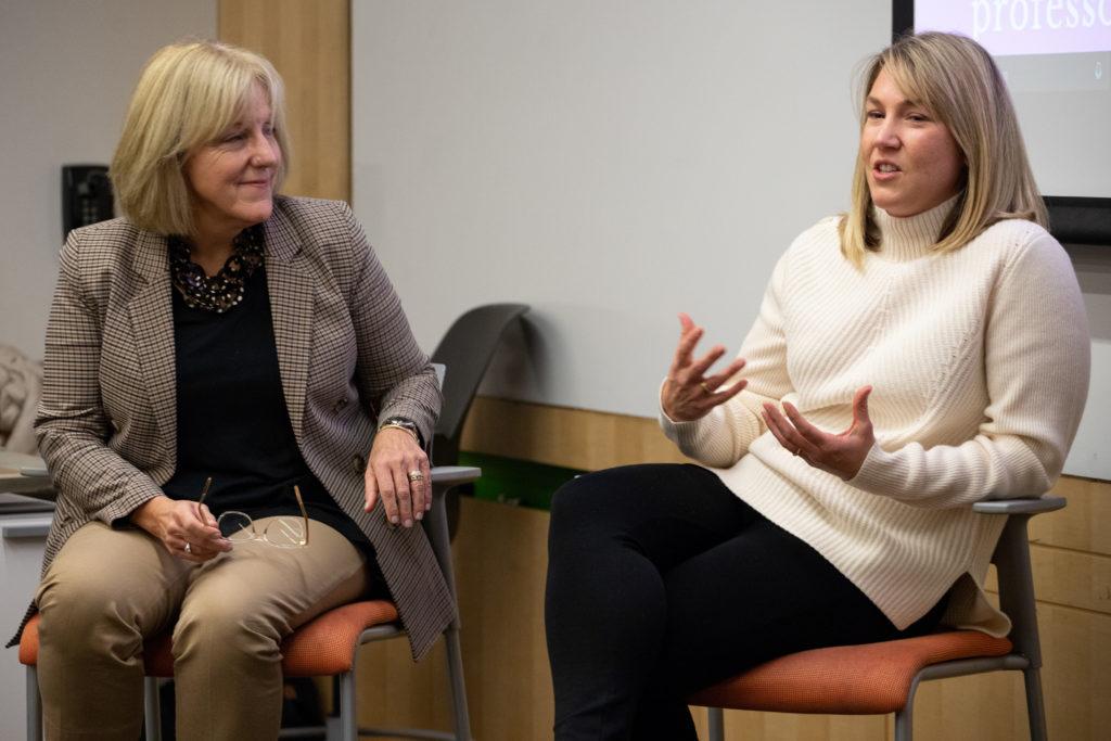Female entrepreneurs discuss startup culture