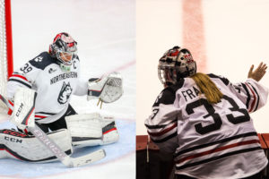 Women's hockey boasts powerhouse duo between the pipes