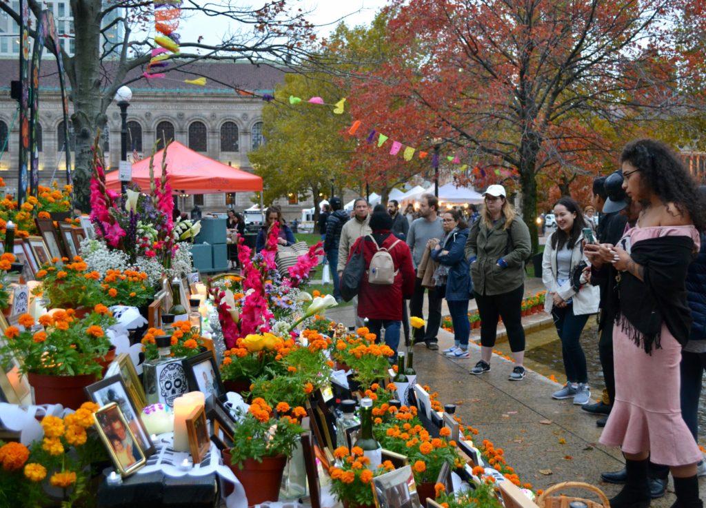 Boston+hosts+first+Dia+de+los+Muertos+celebration+in+Copley+Square