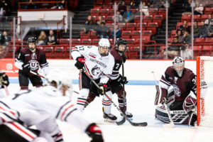 Huskies vs. Huskies: NU hands the No 2. ranked team in the nation St. Cloud State its first loss of the season