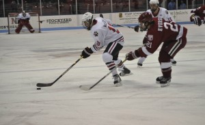 Men's hockey hosts 'Mustaches for MacLeod'