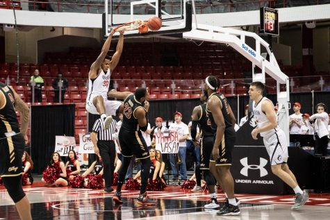 Men's basketball dominates overtime period in first win of 2019