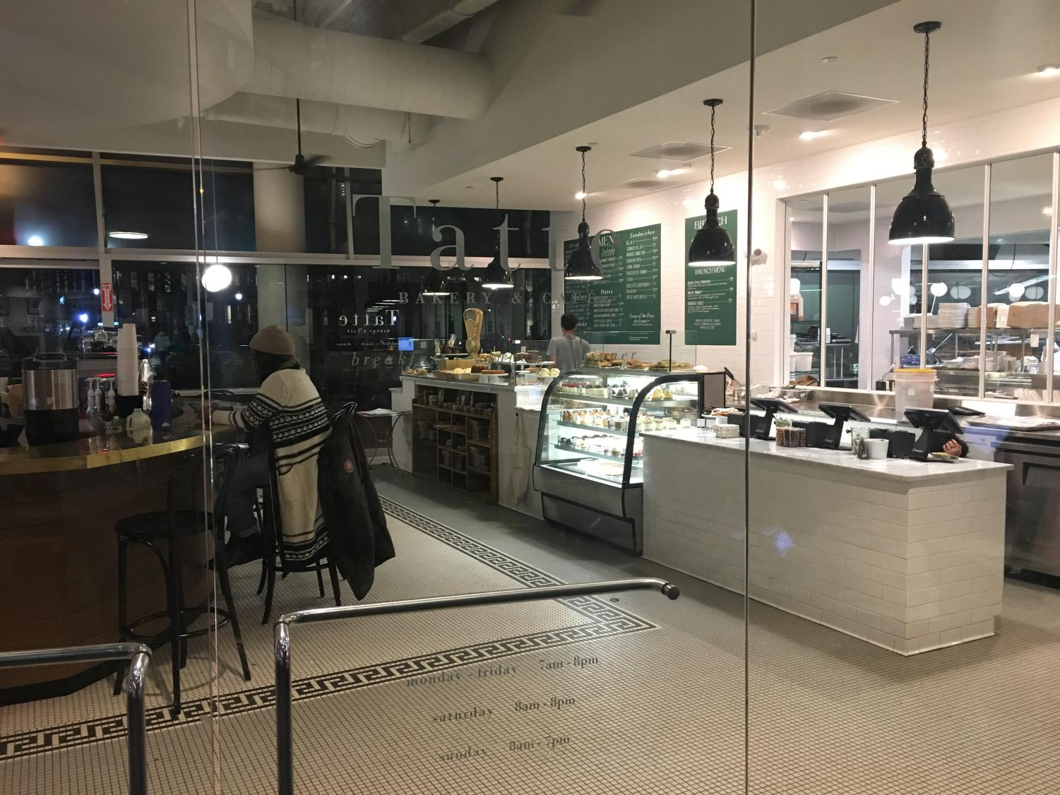 At the start of the fall semester, a Tatte opened on Northeastern's campus in Marino Center. Some students refrain from going to the cafe because of their premium prices.