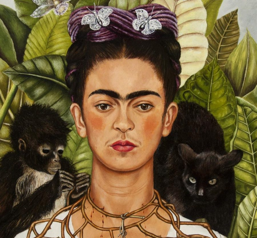 Mexican+artist+Frida+Kahlo%27s+1940+%22Self-Portrait+with+Thorn+Necklace+and+Hummingbird%22+will+be+on+display+at+the+MFA+through+June+16.+%0A%0ANickolas+Muray+Collection+of+Modern+Mexican+Art%2C+Harry+Ransom+Center%2C+The+University+of+Texas+at+Austin.+%C2%A9+2018+Banco+de+M%C3%A9xico+Diego+Rivera+Frida+Kahlo+Museums+Trust%2C+Mexico%2C+D.F.+%2F+Artists+Rights+Society+%28ARS%29%2C+New+York.