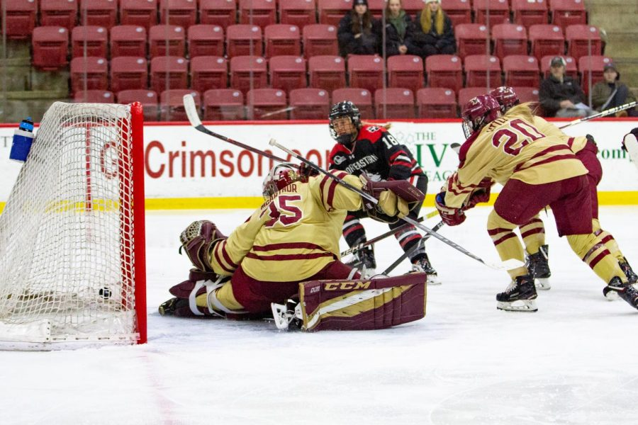 434062cdd Women's hockey loses 4-1 to BC, finishes fourth in Beanpot - The ...