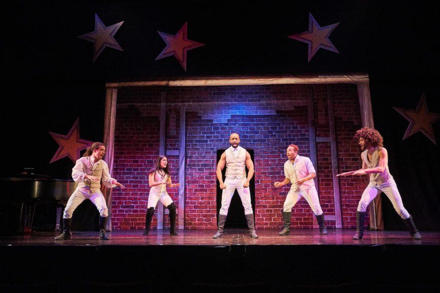 %22Spamilton%22+cast+performs+at+Huntington+Theatre+Company.