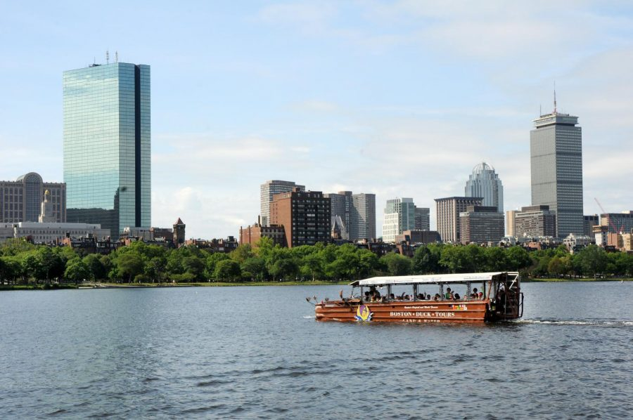 Boston+Duck+Tours+has+been+providing+tourists+and+athletes+with+rides+across+the+city+for+years.+