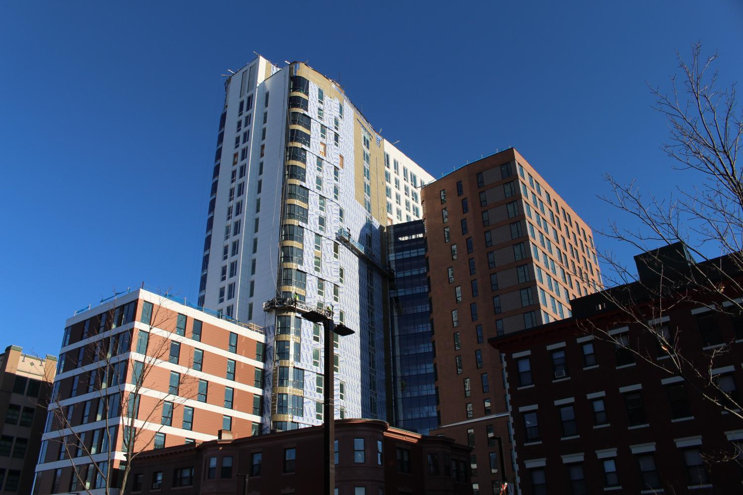 Residents across Roxbury have mixed feelings about Northeastern's latest housing development, Lightview.