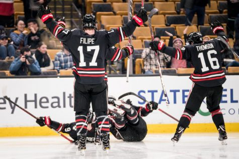 NU outlasts BC to win second consecutive Beanpot