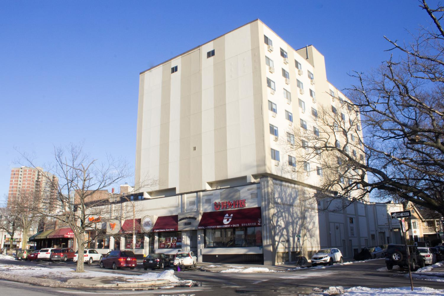 Northeastern's housing at 1110 Commonwealth Ave. is located two miles off campus.