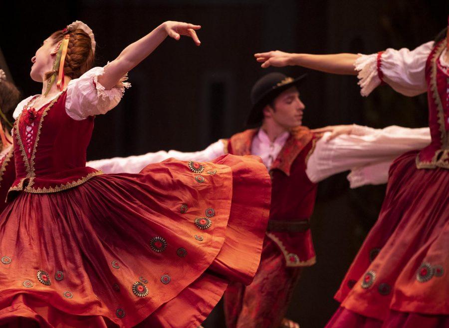Boston Ballet performs George Balanchine's Coppelia Wednesday, March 20, 2019 at the Boston Opera House.