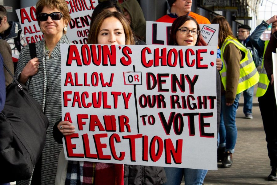 Northeastern's full-time, non-tenure track faculty  refiled their petition stating their desire to unionize.