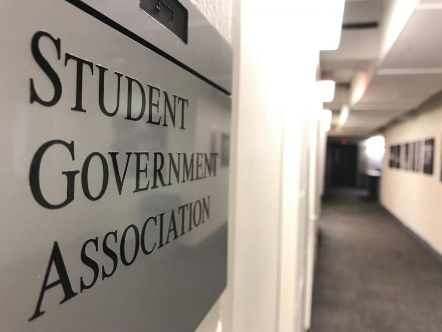 The+Student+Government+Association+office+is+located+in+332+Curry+Student+Center.