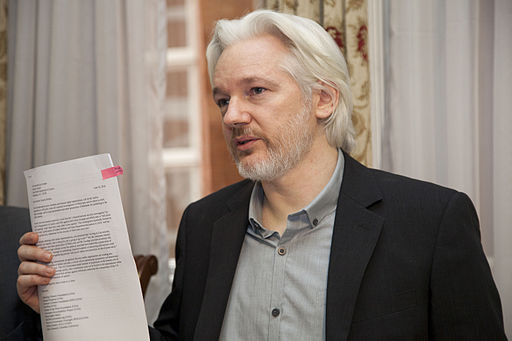 The founder of WikiLeaks was seized by British authorities, jeopardizing precedents set by the First Amendment.