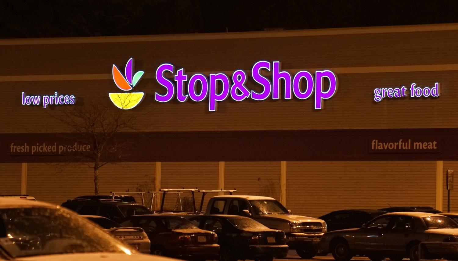 A Stop & Shop in Saugus, Massachusetts. Unionized workers are currently negotiating their contracts in Massachusetts.