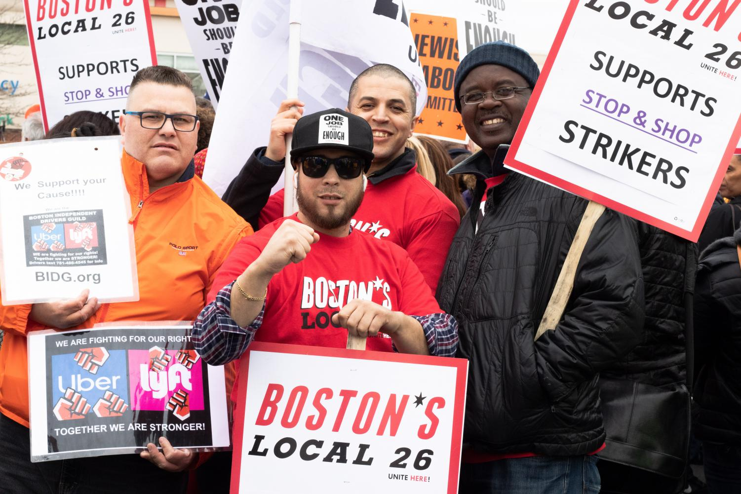 %28From+left%29+Felipe+V+Martinez%2C+Edwin+Gonzalez%2C+Zouhir+Ntouda+and+Serge+Duffault+attend+the+rally+to+support+Stop+%26+Shop+strikers.+
