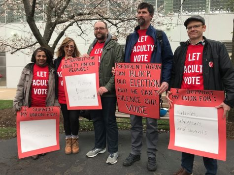 Faculty organizers express tentative hope for unionization