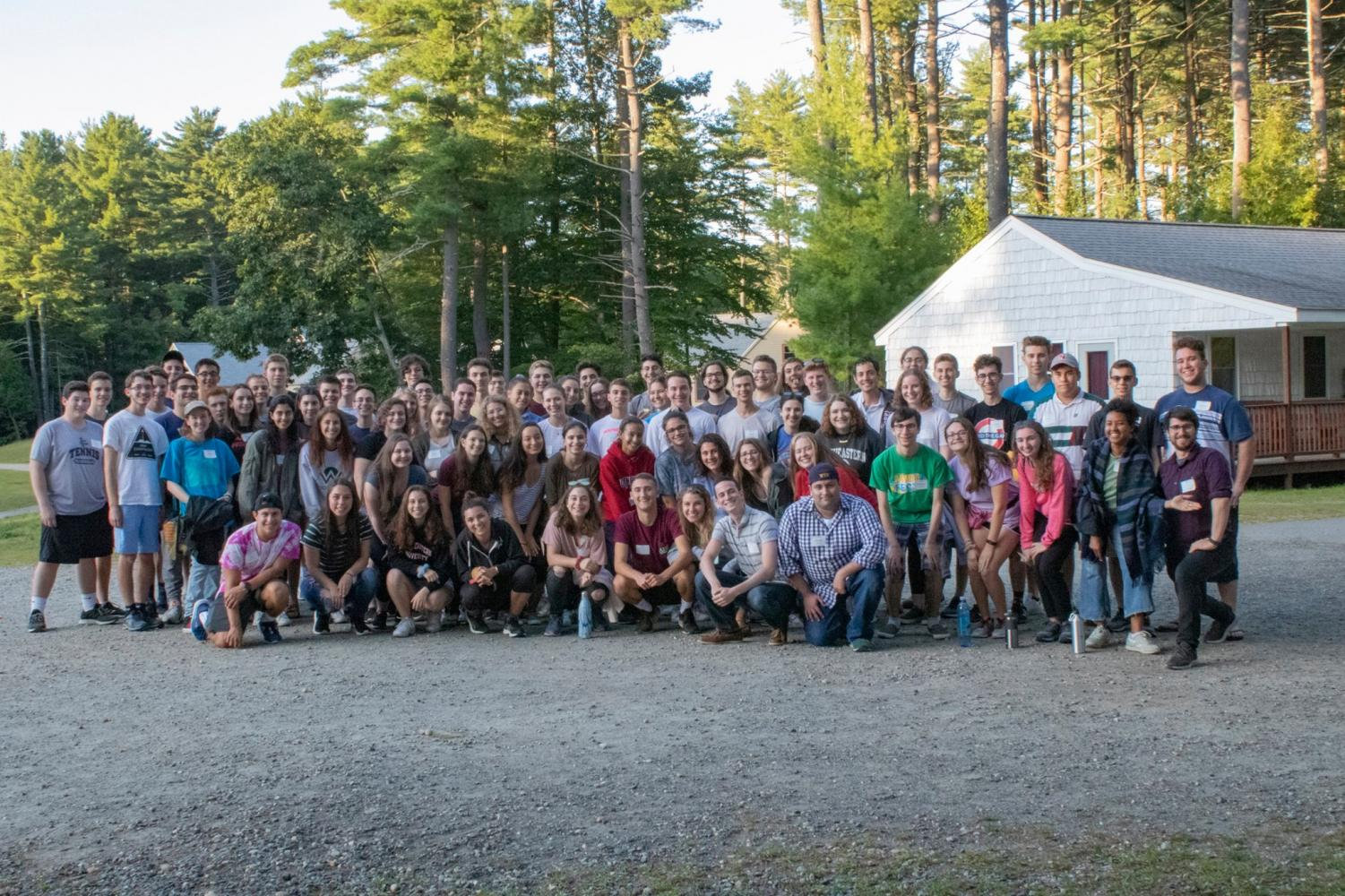 Over 60 freshmen participated in Hillel's Freshfest at Camp Ramah.