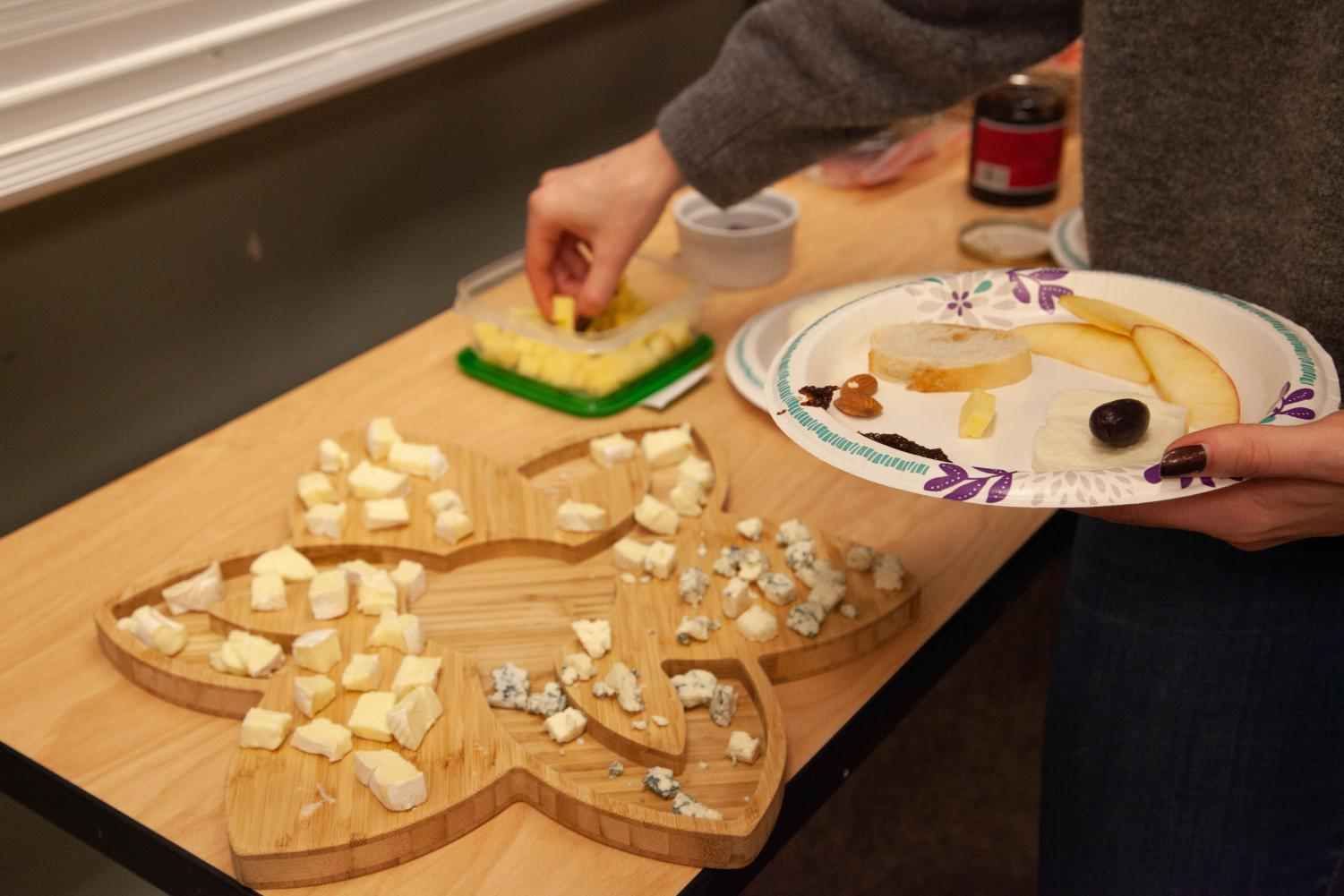 Northeastern's Cheese Club focuses on celebrating the food and also bringing together the larger cheese community.