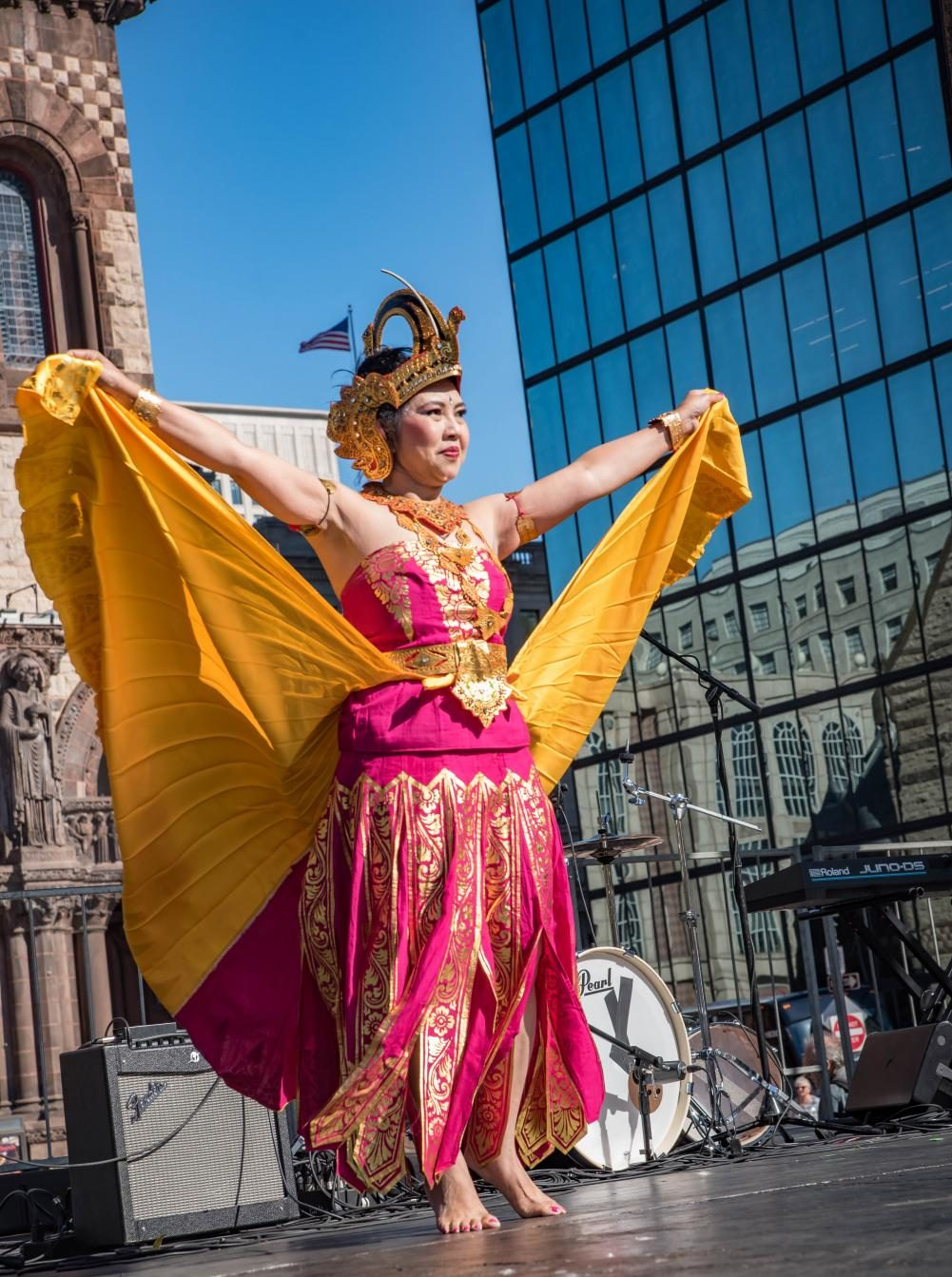 The 2019 New England Indonesian Festival featured traditional Indonesian dances among other theatrical performances.