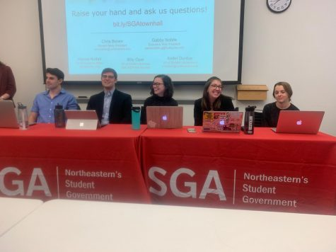 SGA discusses potential changes to Rebecca's, SAF, GSuite at town hall