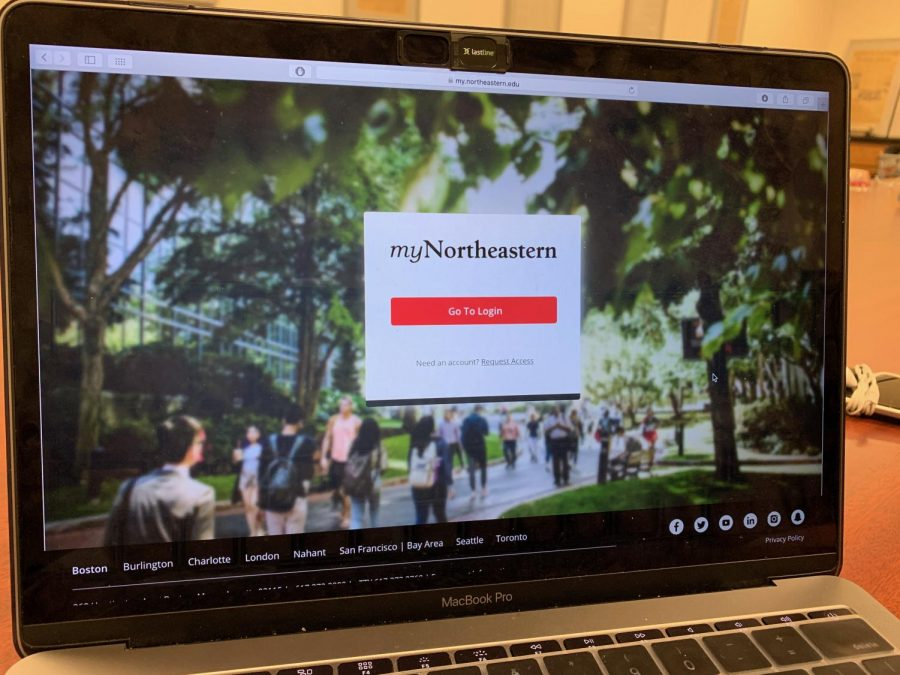 Starting in November, students will have to use Duo two-factor authentication to log in to myNortheastern.