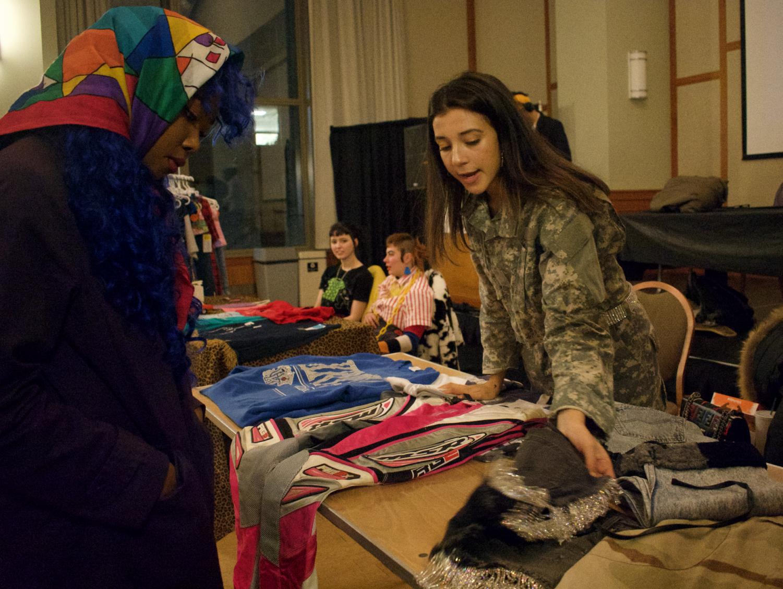 Northeastern community members attend the Fashion Society's third annual Designer Showcase.