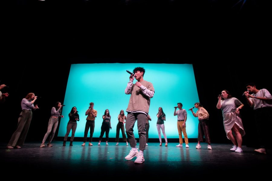 All six of Northeastern's a cappella groups performed at the AllCappella show.